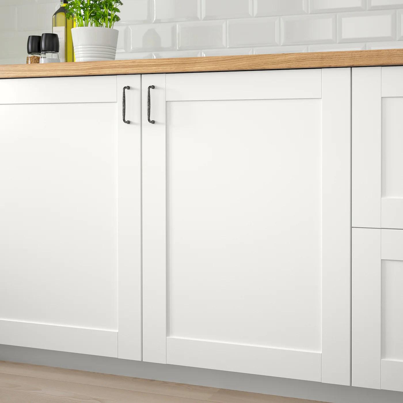 Savedal White Door 40x80 Cm Ikea