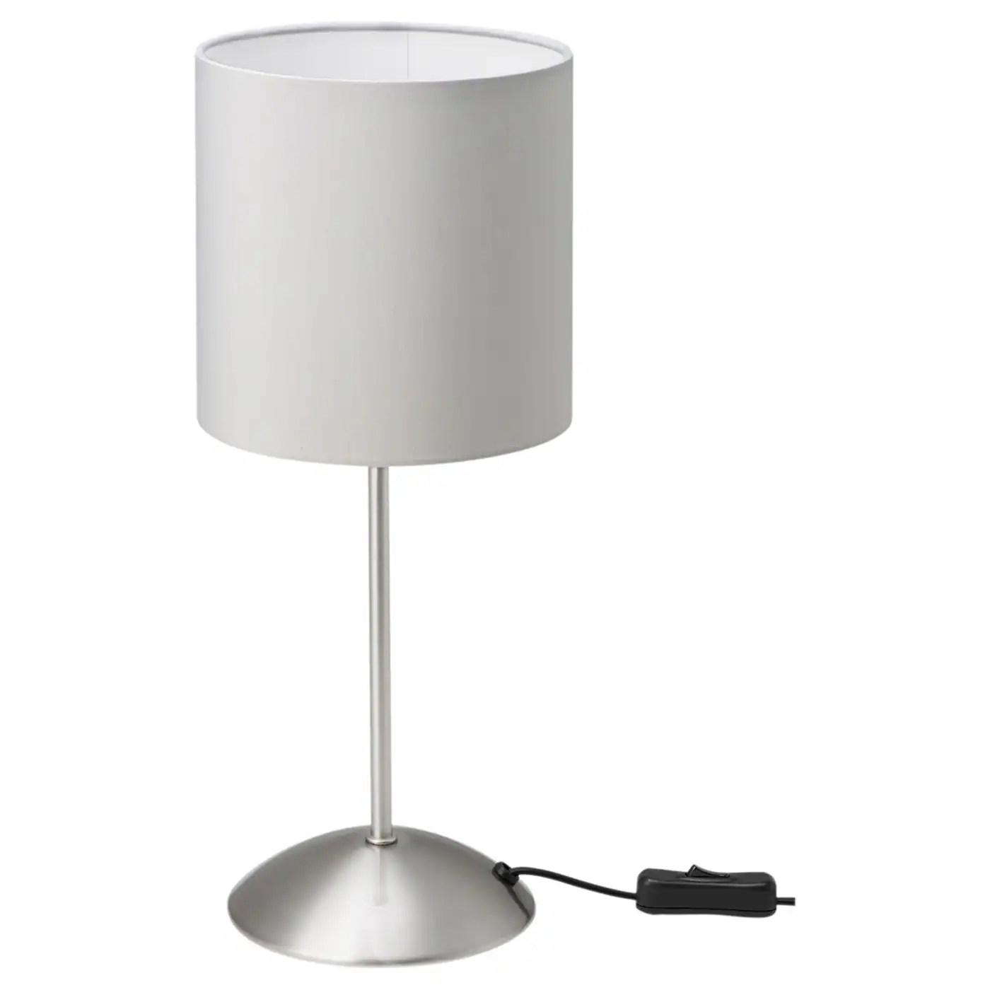Tiarp Grey Table Lamp Ikea