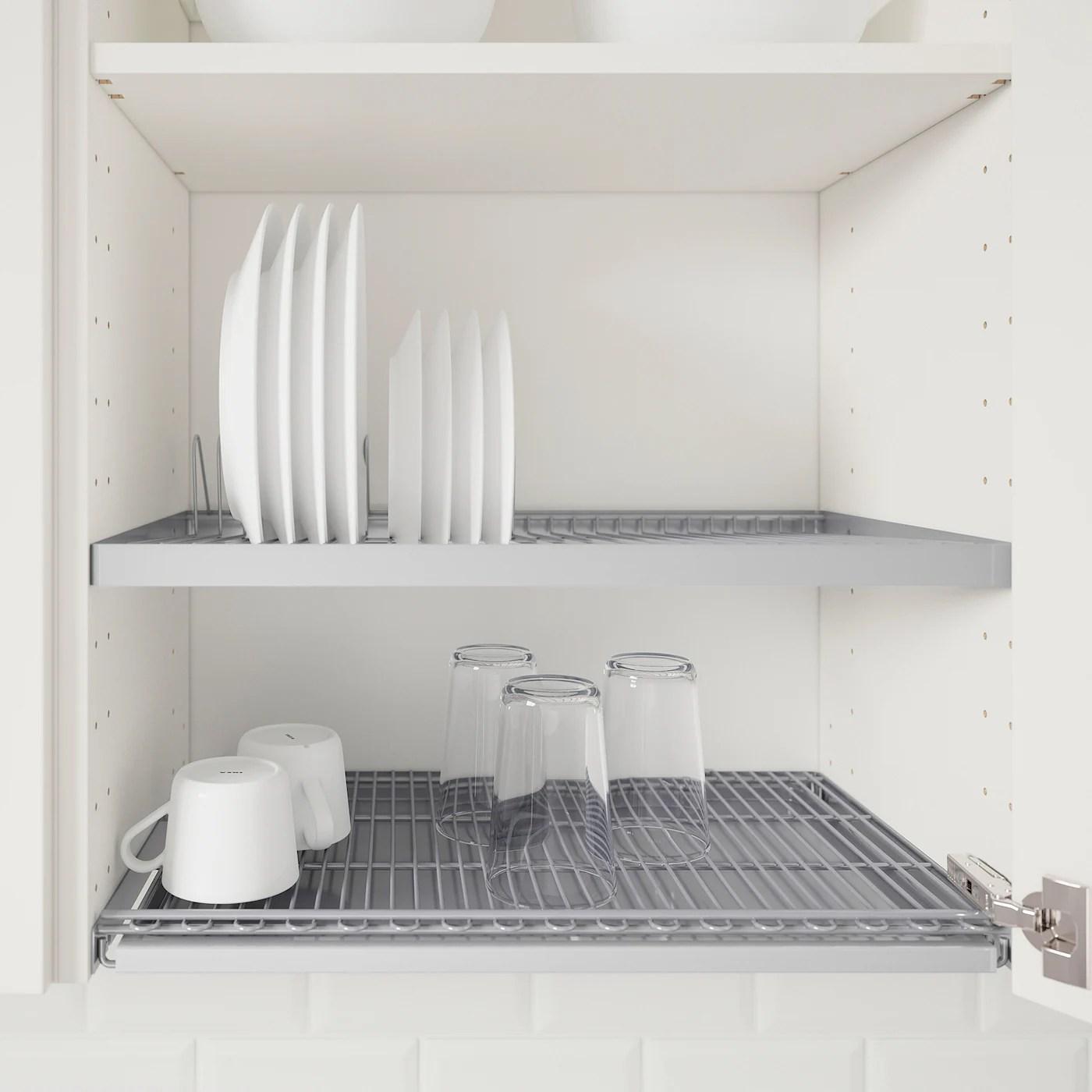 utrusta dish drainer for wall cabinet 60x35 cm