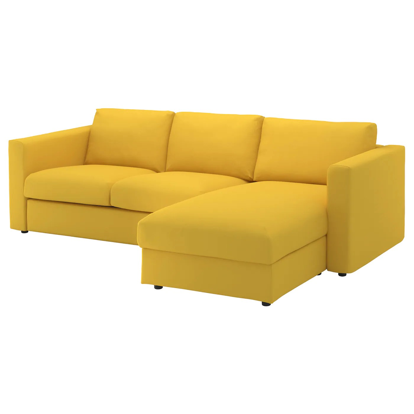 Three Seater Chaise Sofa