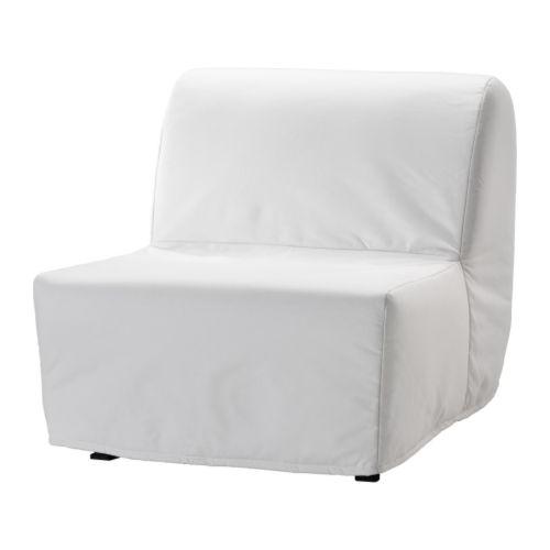 LYCKSELE LÖVÅS Fotelágy IKEA Könnyű tisztán tartani; levehető, mosógépben mosható huzat.