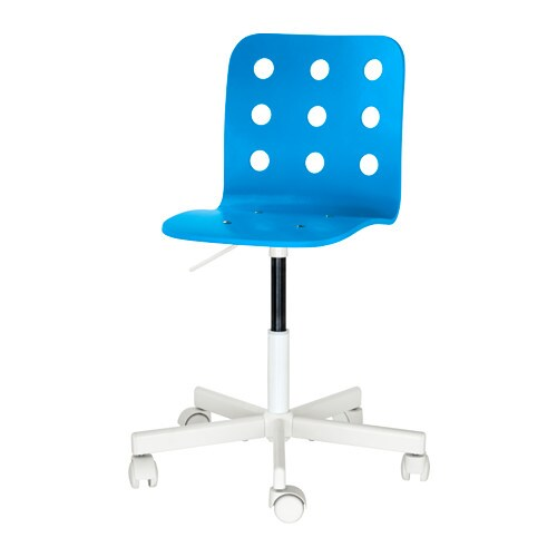 JULES Childrens Desk Chair Bluewhite IKEA