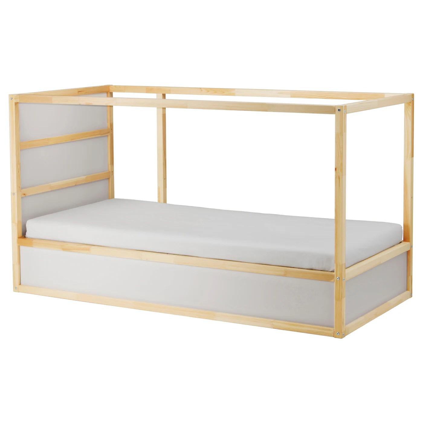Kura Reversible Bed White Pine 90x200 Cm Ikea Ireland