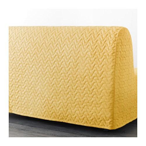 Ikea Lycksele LÖvÅs Two Seat Sofa Bed A Simple Firm Foam Mattress For