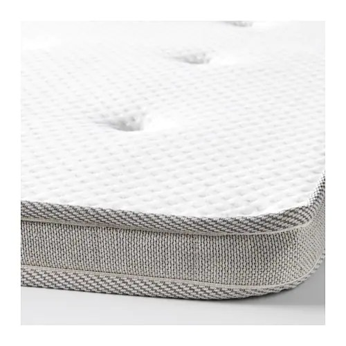 Ikea Tromsdalen Mattress Topper Stretch Fabric Follows The Contours Of Your Body As You Move In