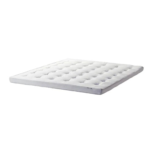 Ikea Tustna Mattress Topper Easy To Bring Home Since It Is Roll Packed