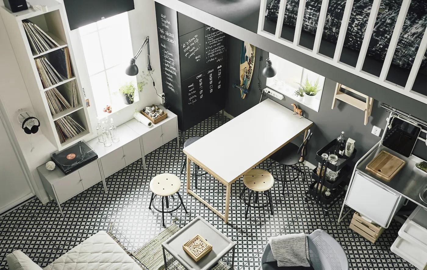 A Small And Smart Loft Apartment Ikea