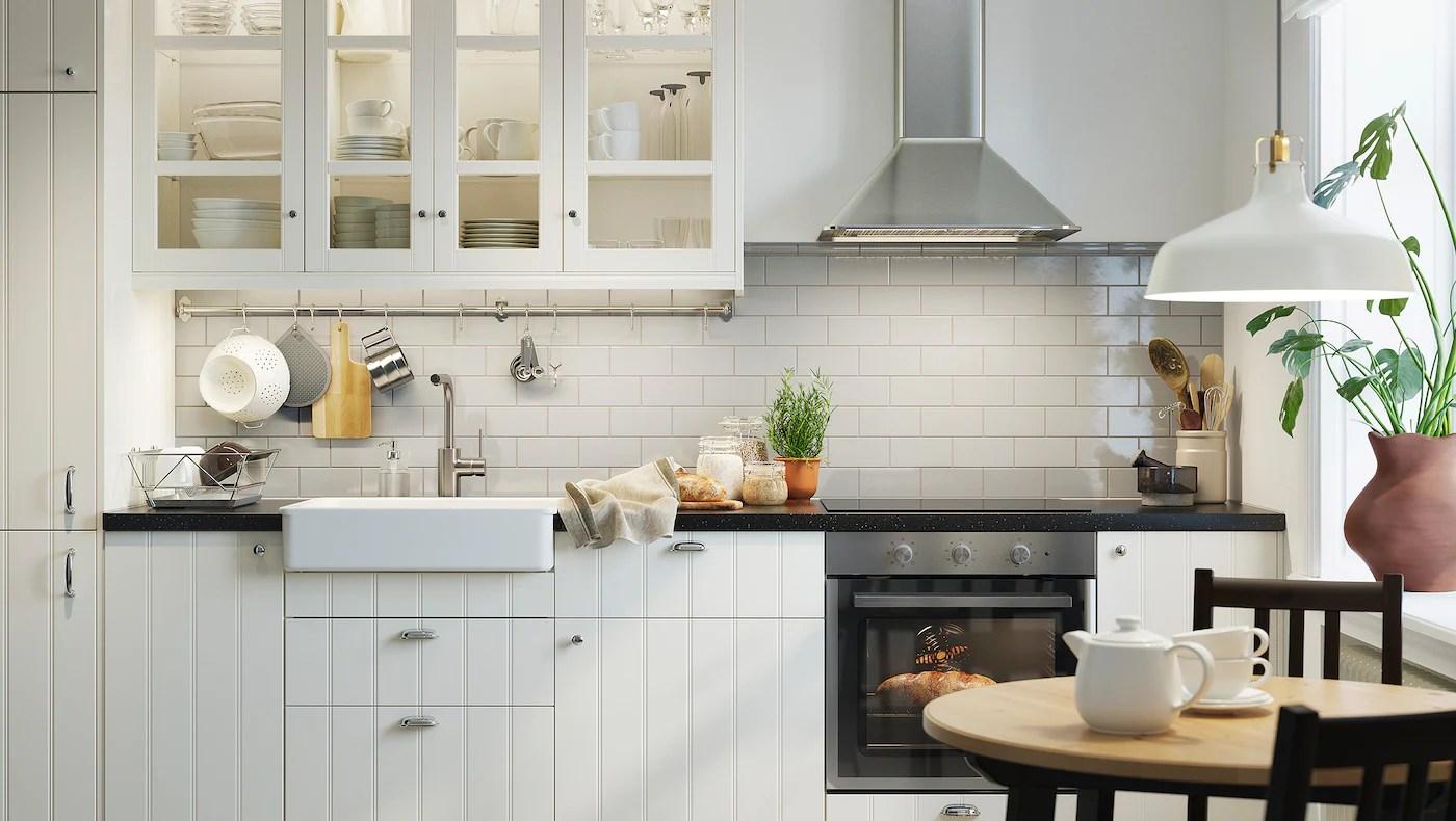 Cosy And Classic Hittarp Off White Kitchen Guide Ikea
