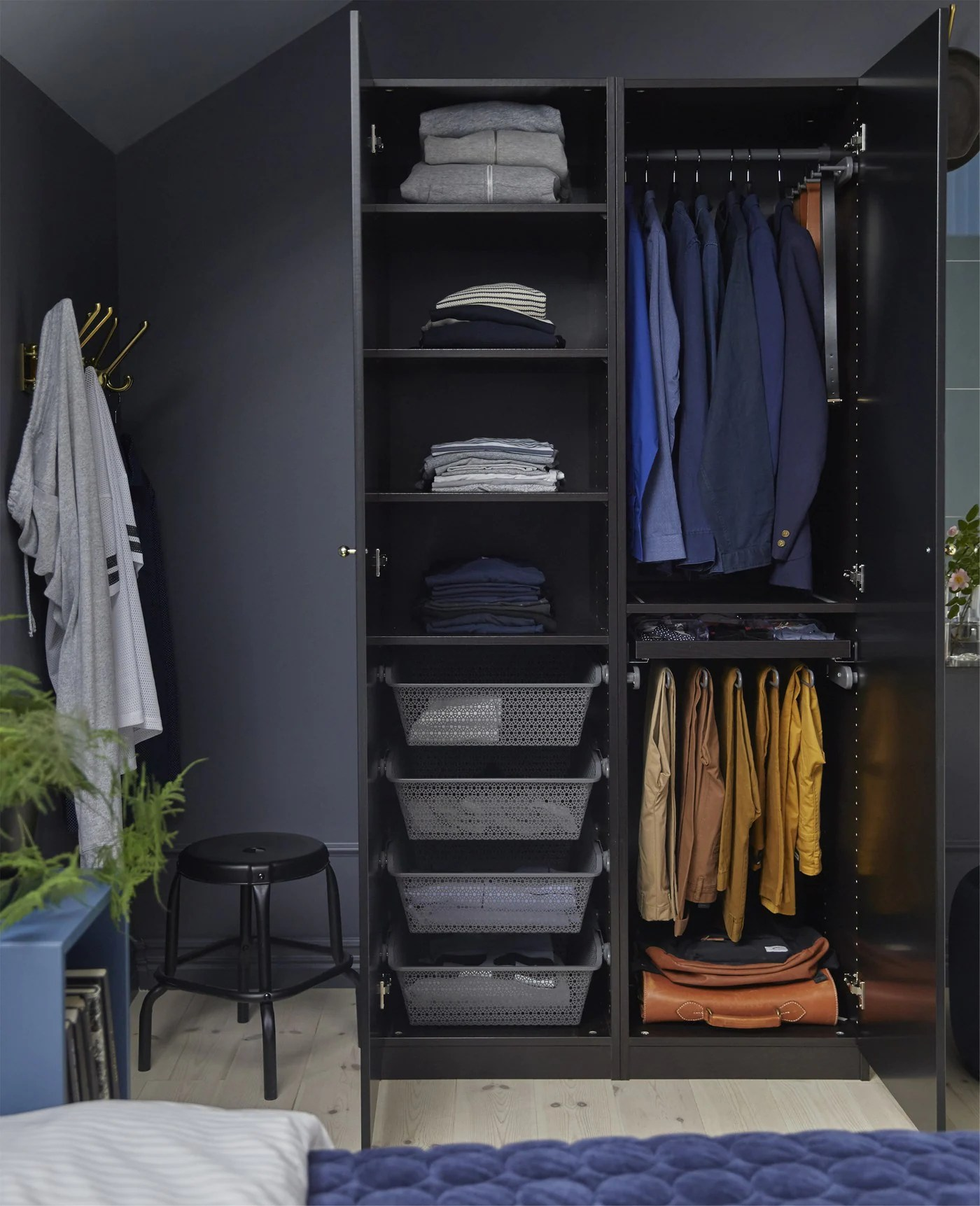 Build His And Hers Wardrobes Ikea Ikea