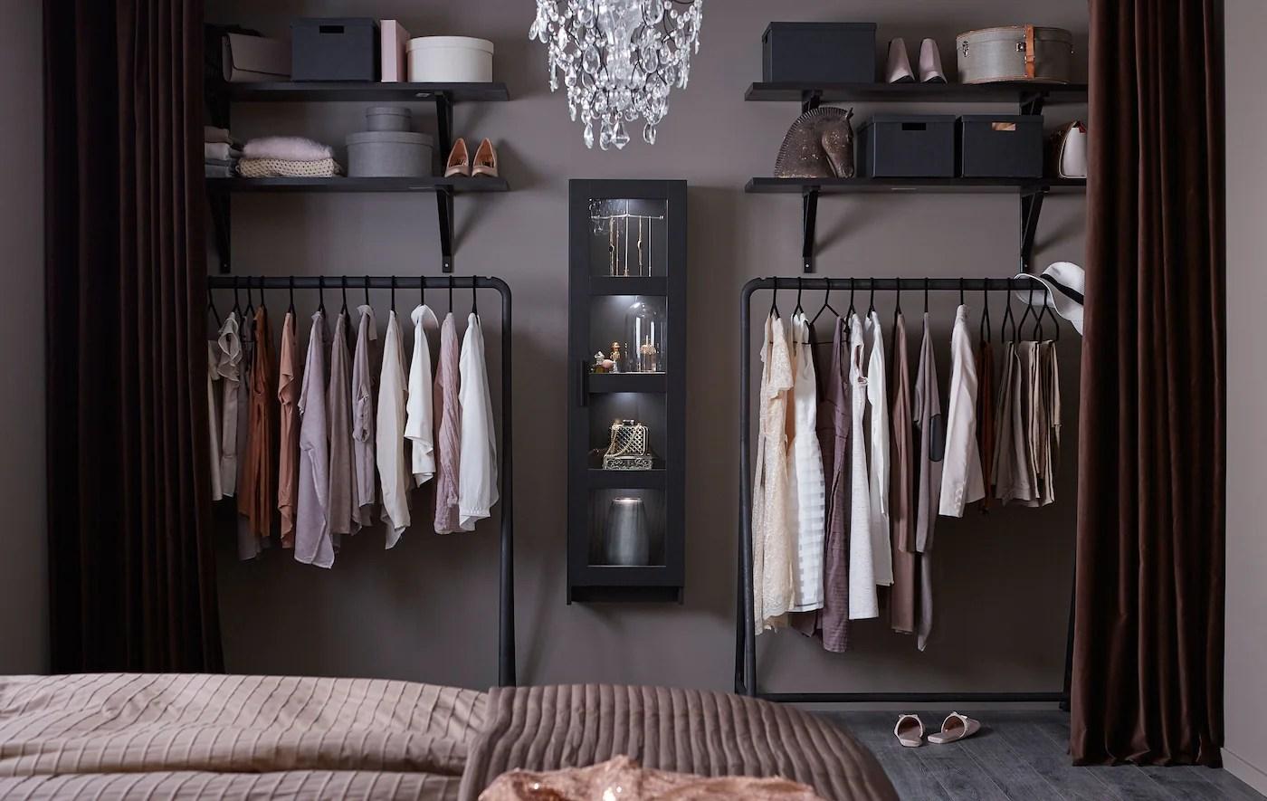 An Open Wardrobe For Fashionistas Ikea