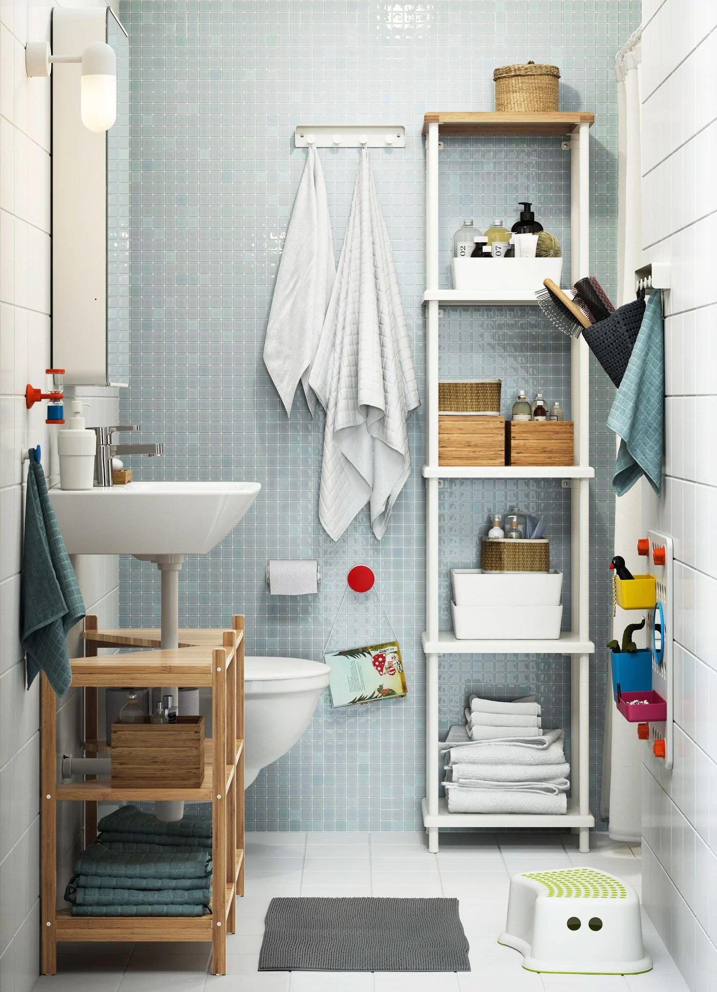 Soluzioni Salvaspazio Per Un Bagno A Misura Di Tutti Ikea
