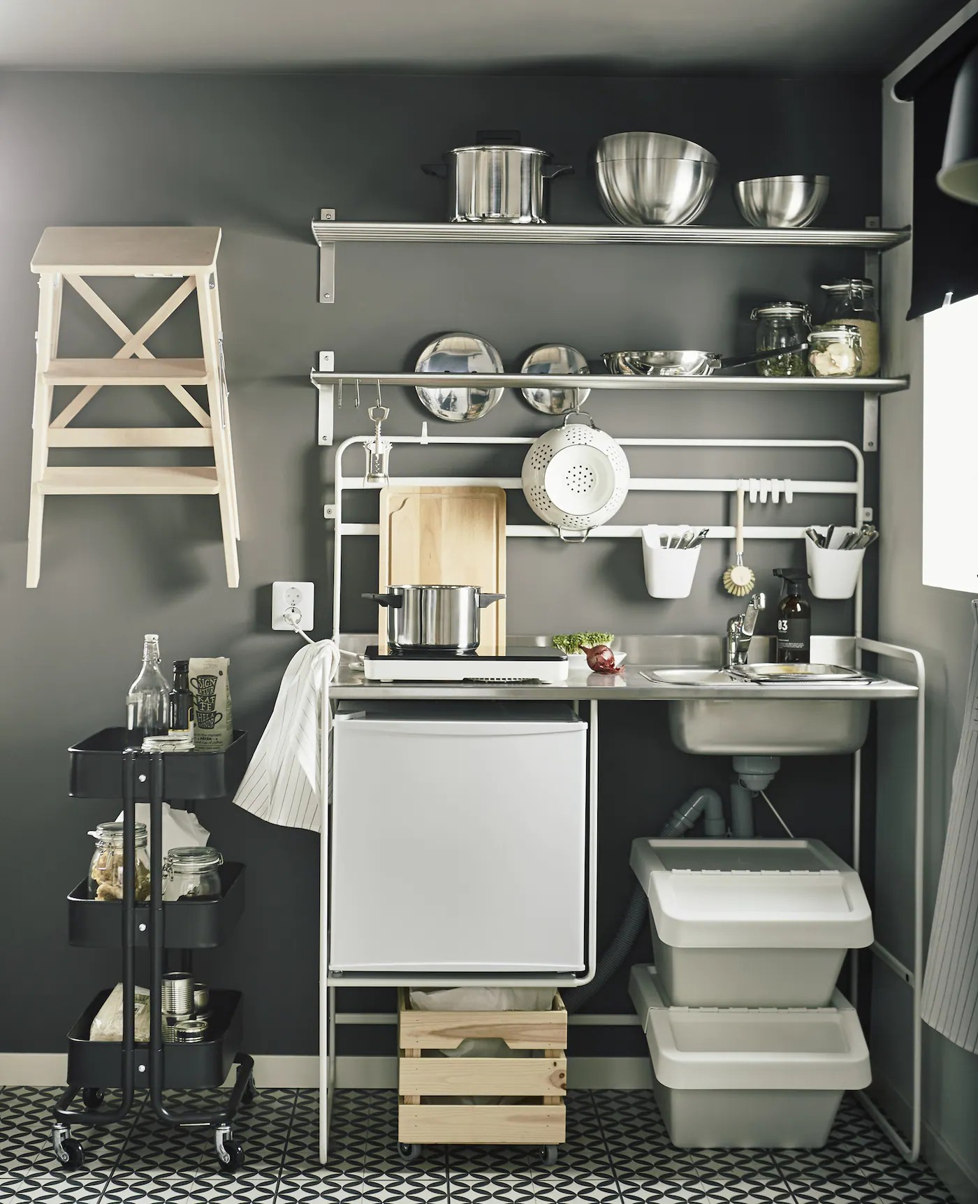 Un Petit Studio Ingenieux Ikea