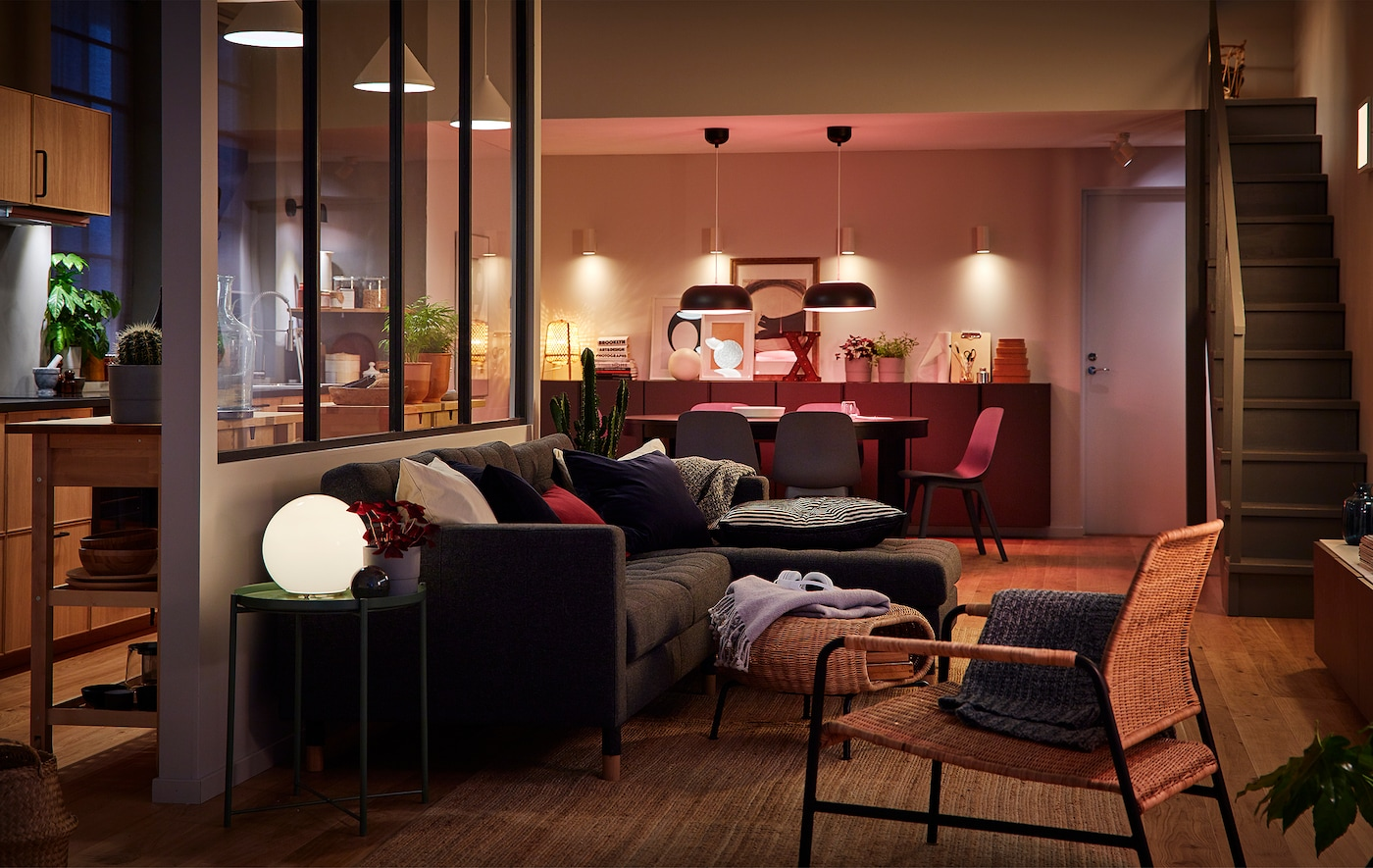 mood lighting your home with led ikea