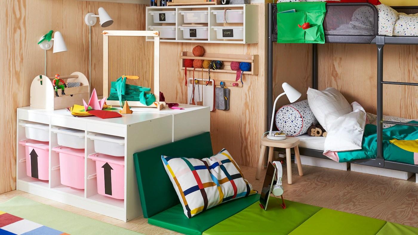 Des Rangements Que Les Enfants Utiliseront Aussi Ikea