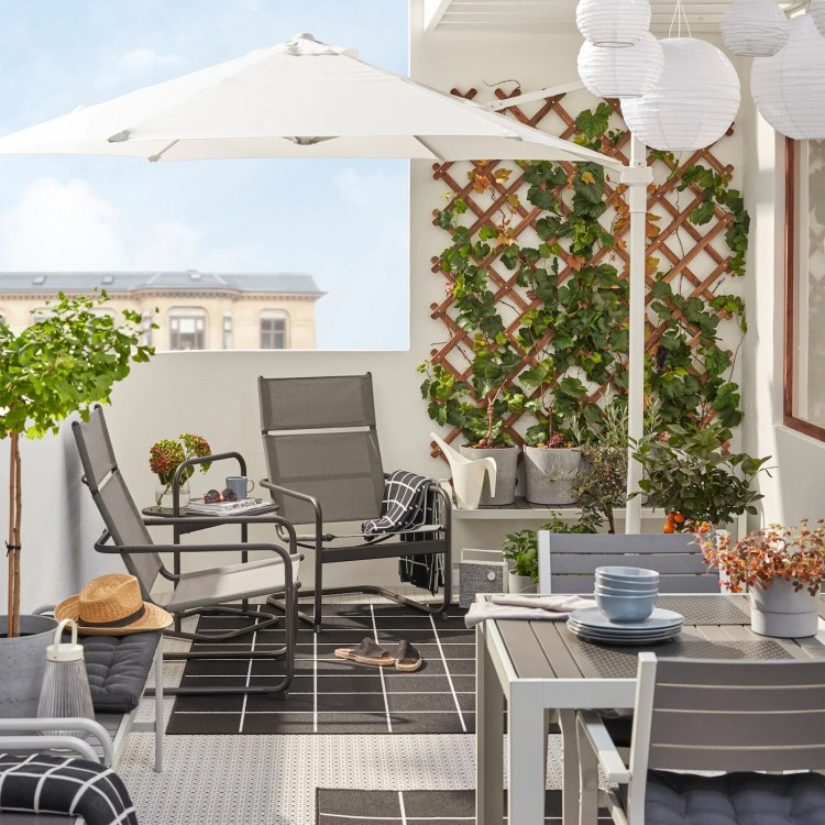 Inspiration For Small Outdoor Spaces Balcony Ideas Ikea