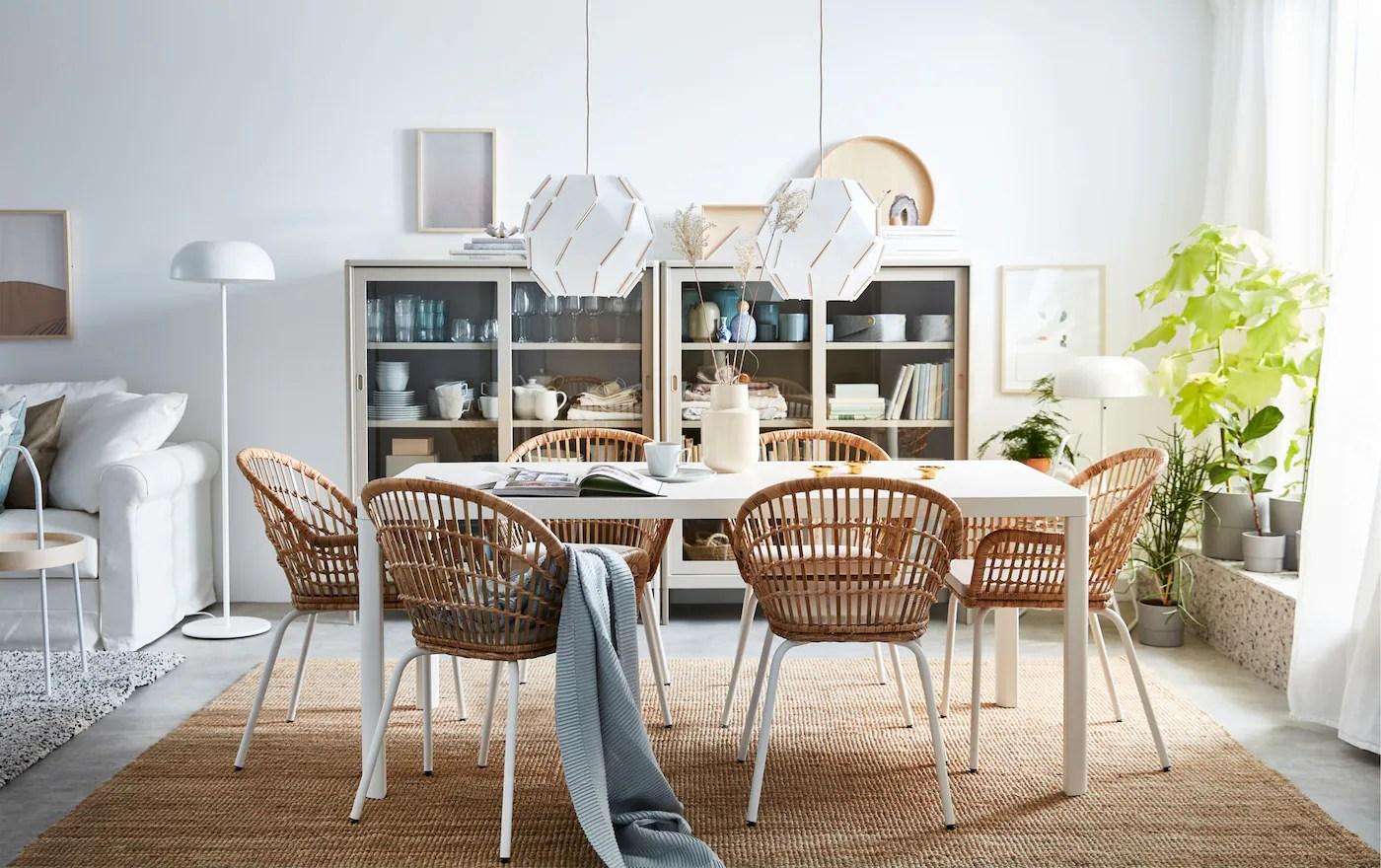 Une Salle A Manger Au Style Naturel Ikea
