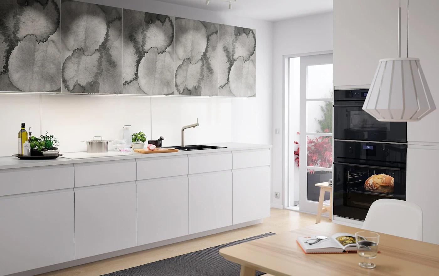 Cucina Con Motivi Grafici Deffetto Idee Cucina Ikea