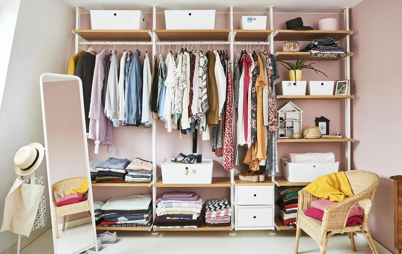 Offener Kleiderschrank Ideen & Inspiration   IKEA   IKEA ...