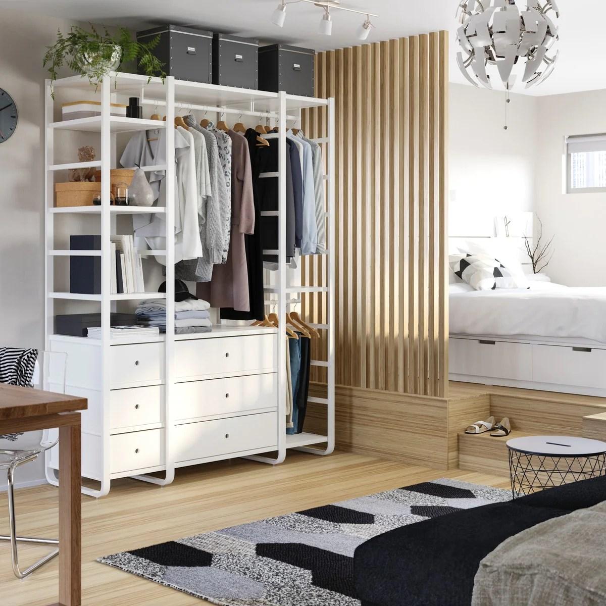 Flexibler, offener Kleiderschrank   Idee   IKEA Deutschland