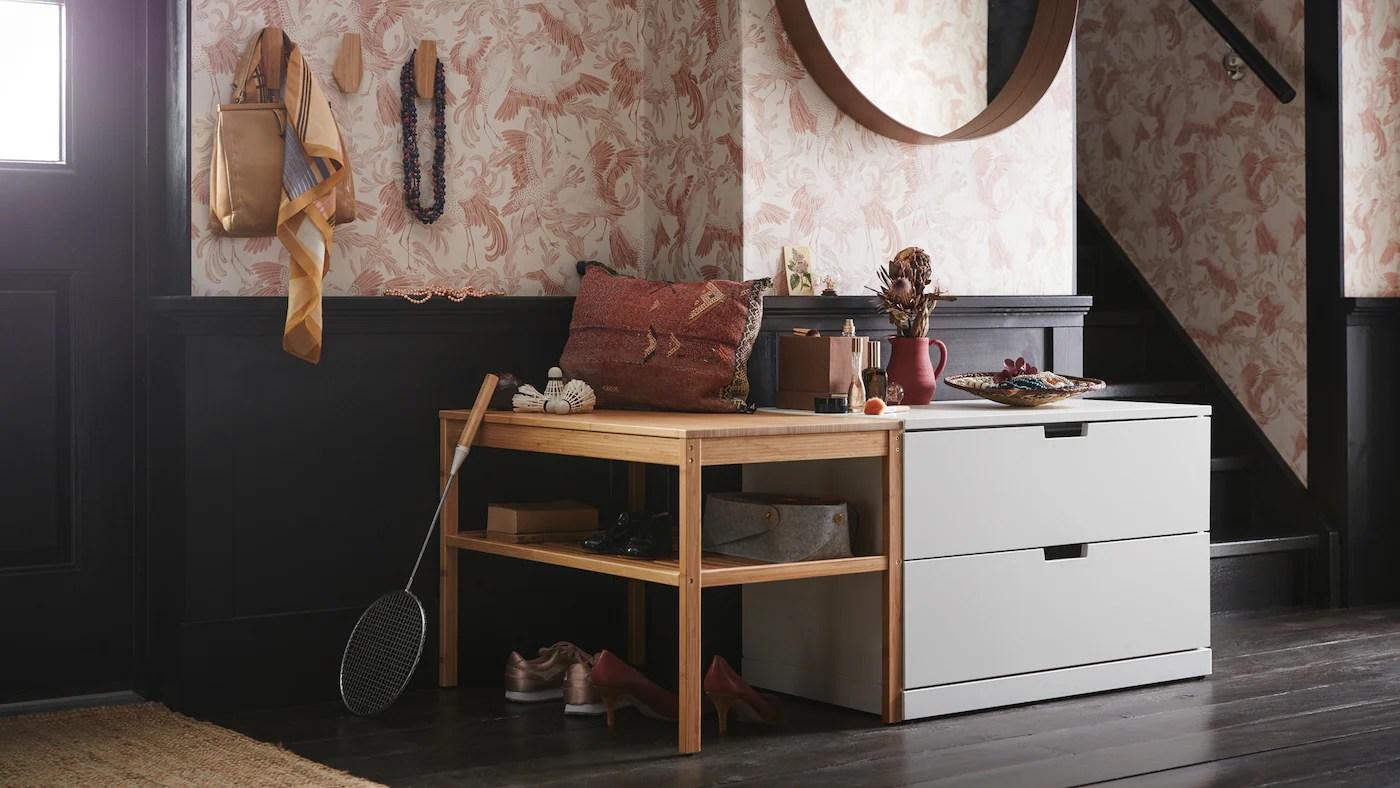 Store Og Sma Ideer Til Den Optimale Entre Ikea