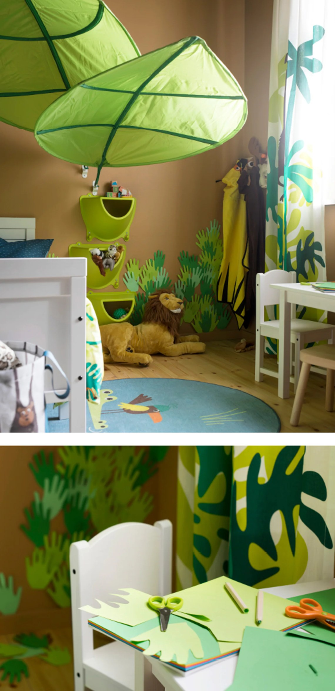 Roar A Kid S Room With Jungle Lessons Ikea