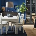 Gemutlicher Essbereich In Blau Weissen Farben Ikea Deutschland