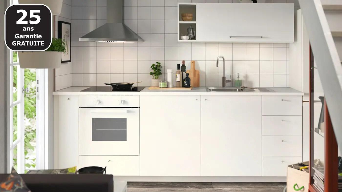 Cuisines Metod Finition Haggeby Blanc Ikea