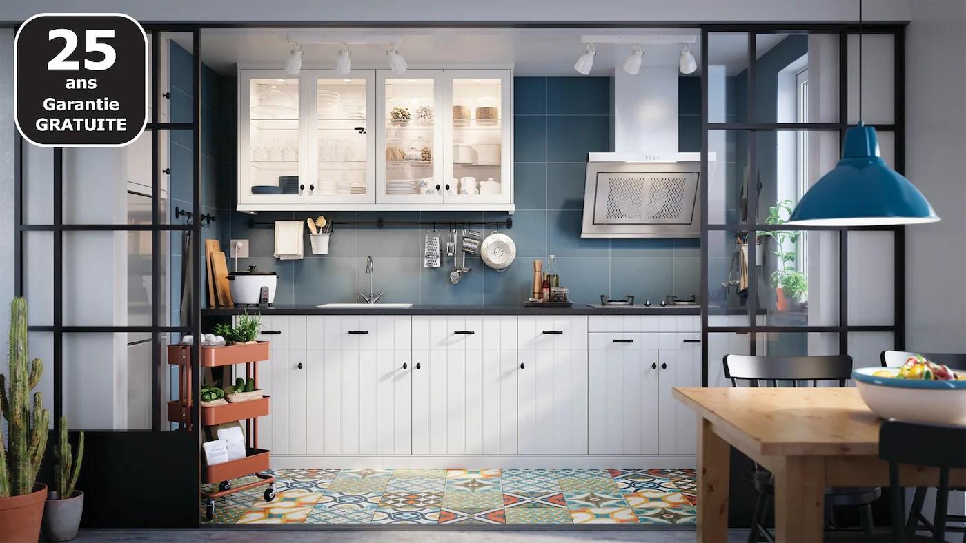 Cuisines Metod Finition Hittarp Blanc Casse Ikea