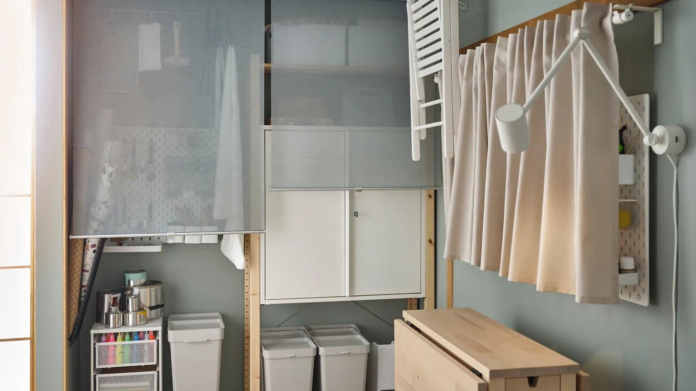 Find Gode Ideer Til Indretning Af Hjemmekontoret Ikea
