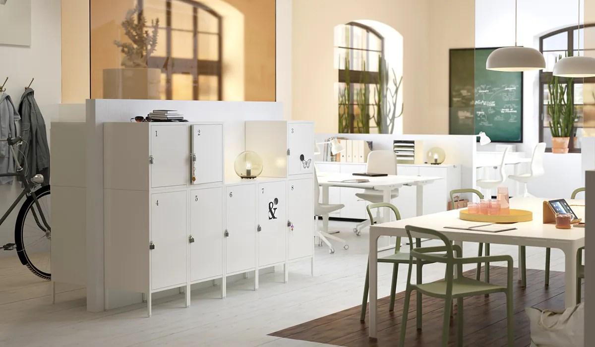 Büromöbel clever designt   Büroeinrichtung von IKEA   IKEA ...