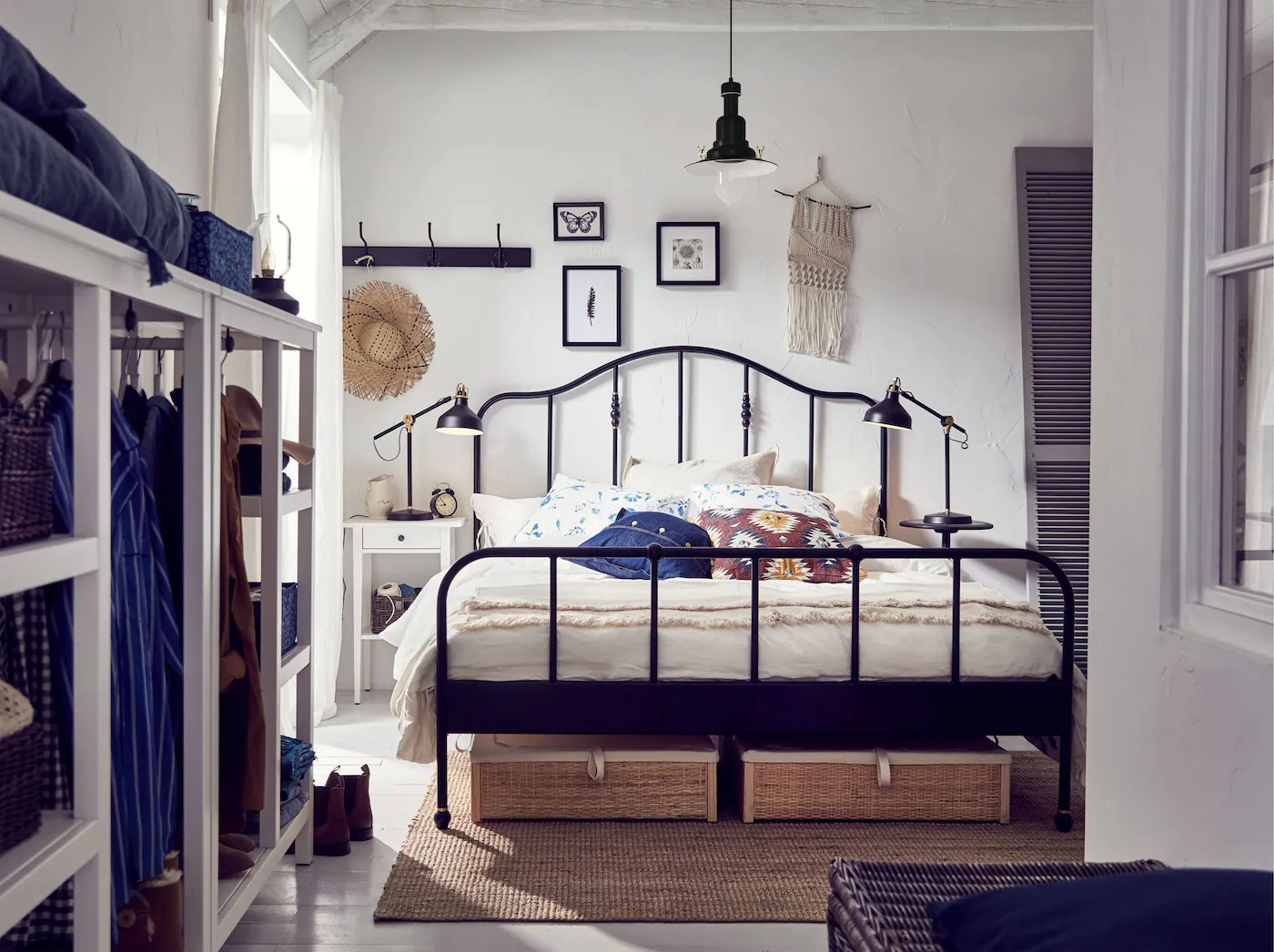Deco Set Bilik Tidur Ikea