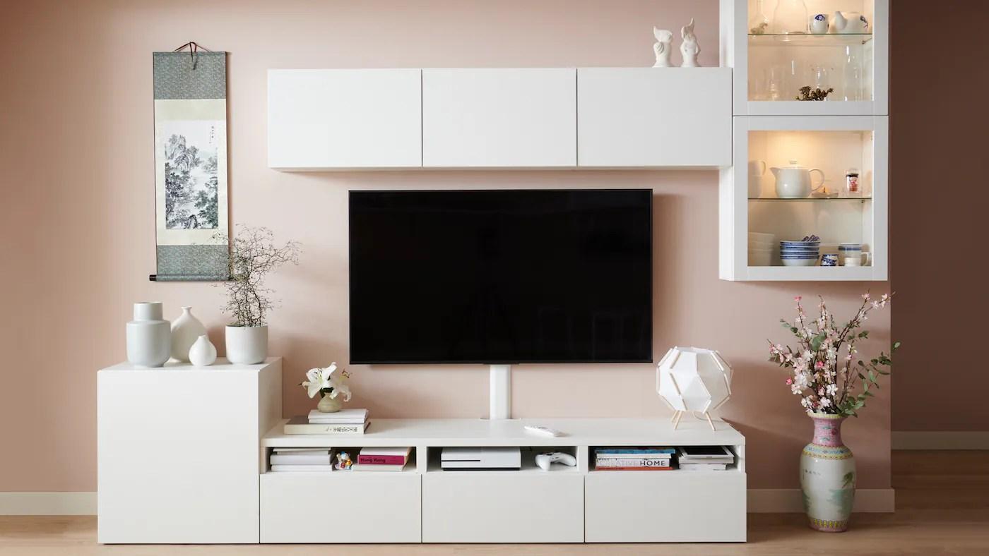 Support Meubles De Television Et Consoles Ikea