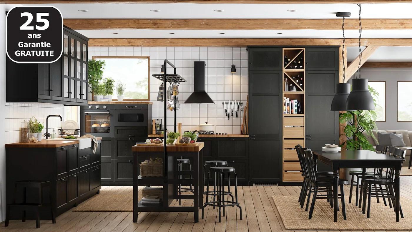 cuisines metod finition lerhyttan noir