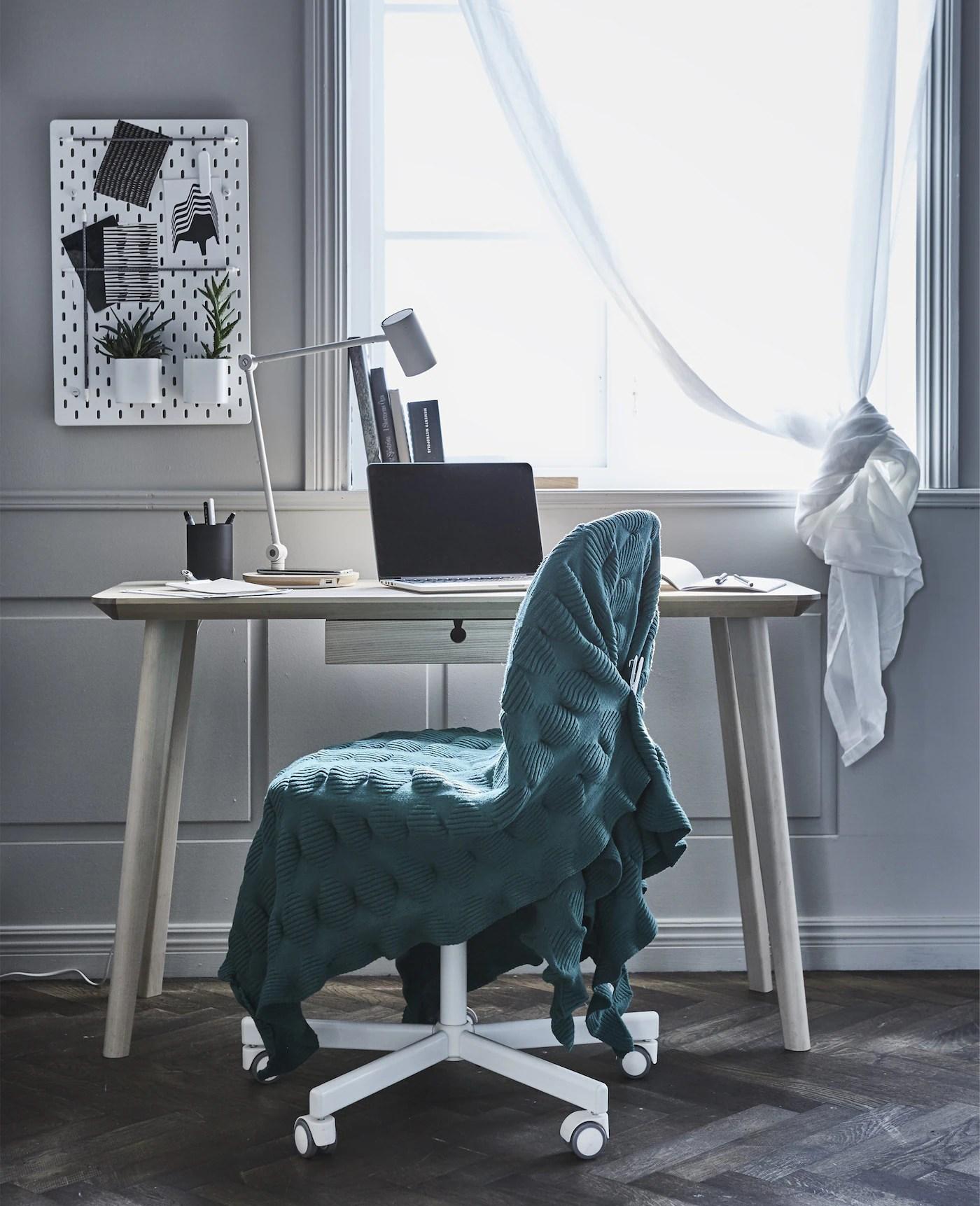 Arbeitsplatz Im Wohnzimmer Einrichten Ikea