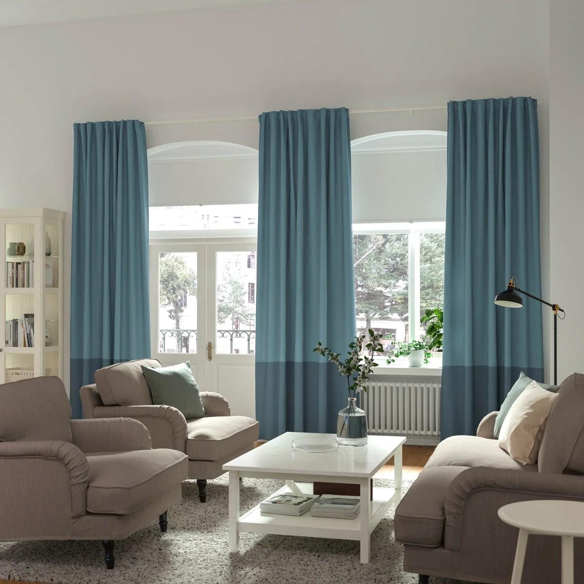 vidga curtain rails and curtain rail