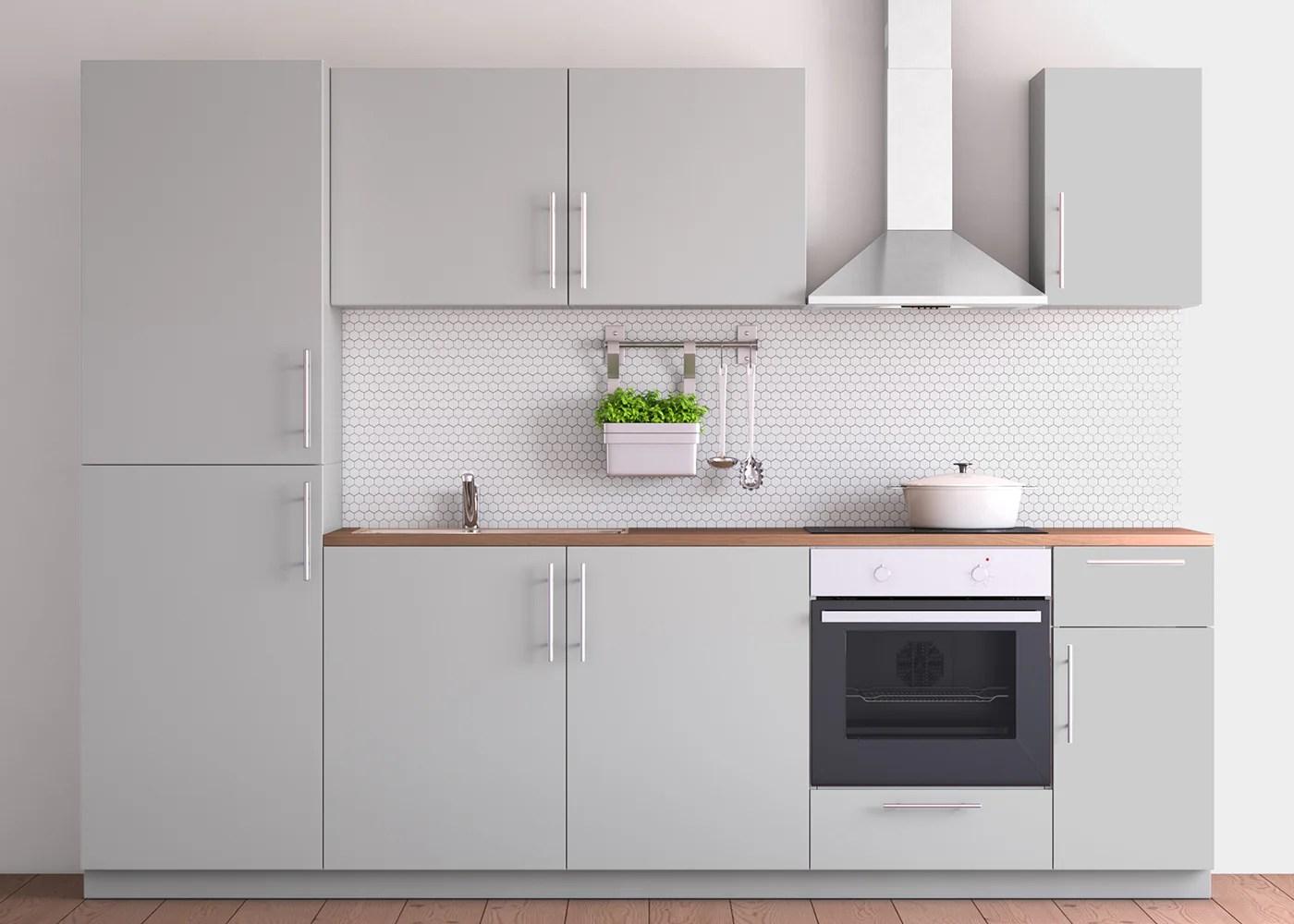 Ikea Küche Hellgrau Hochglanz Küche Metod Weiß Maximera ...