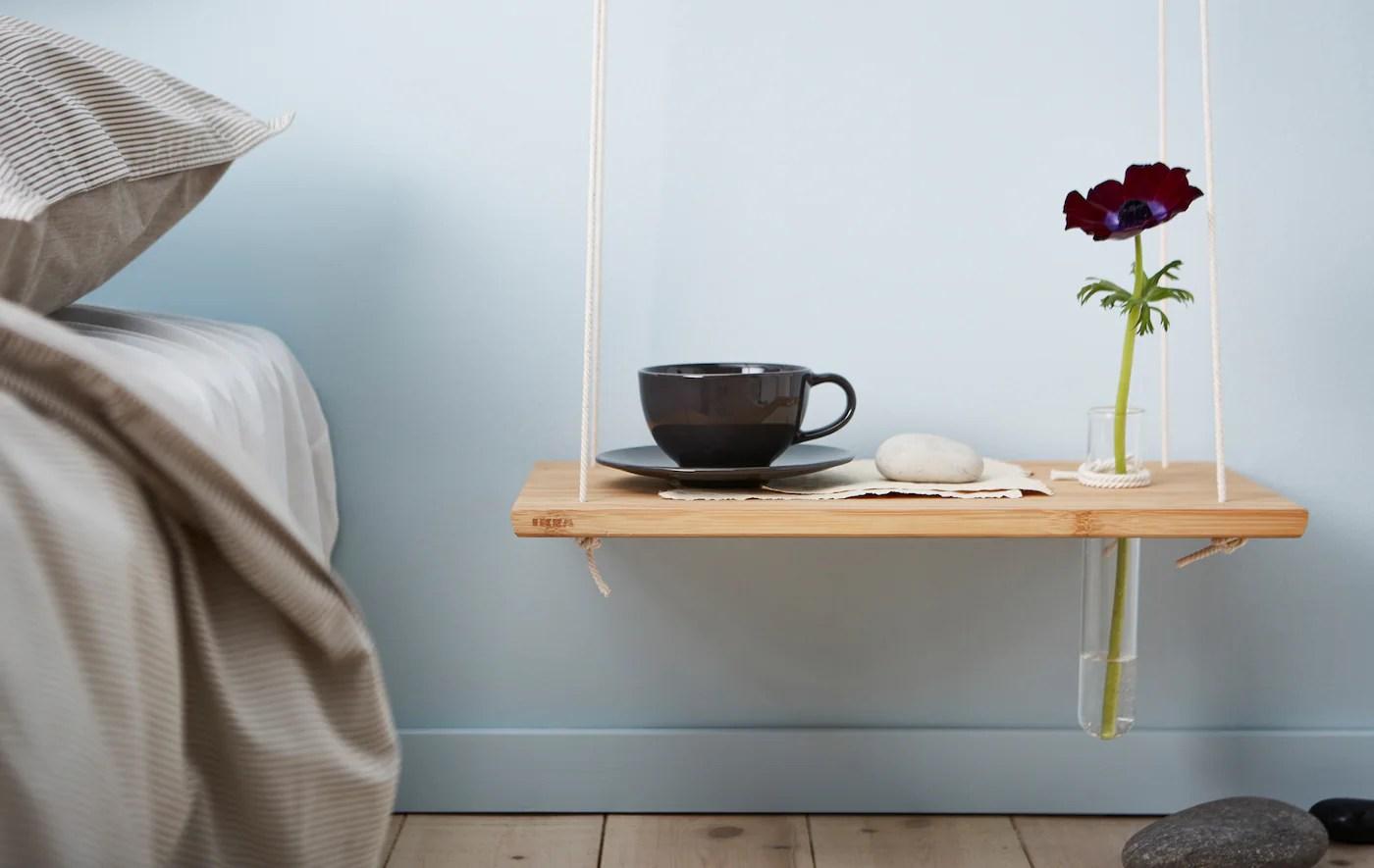 Idees De Tables De Chevet A Faire Soi Meme Ikea