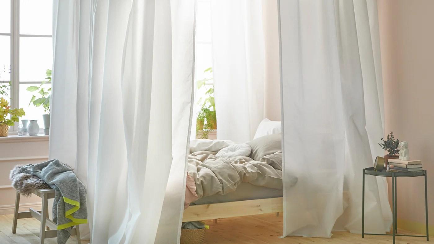 realisez votre propre ciel de lit ikea