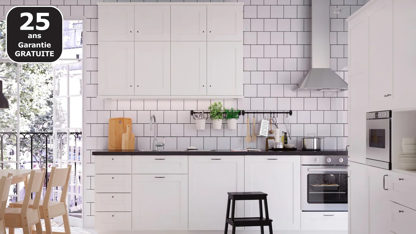 Cuisines Metod Finition Savedal Blanc Ikea