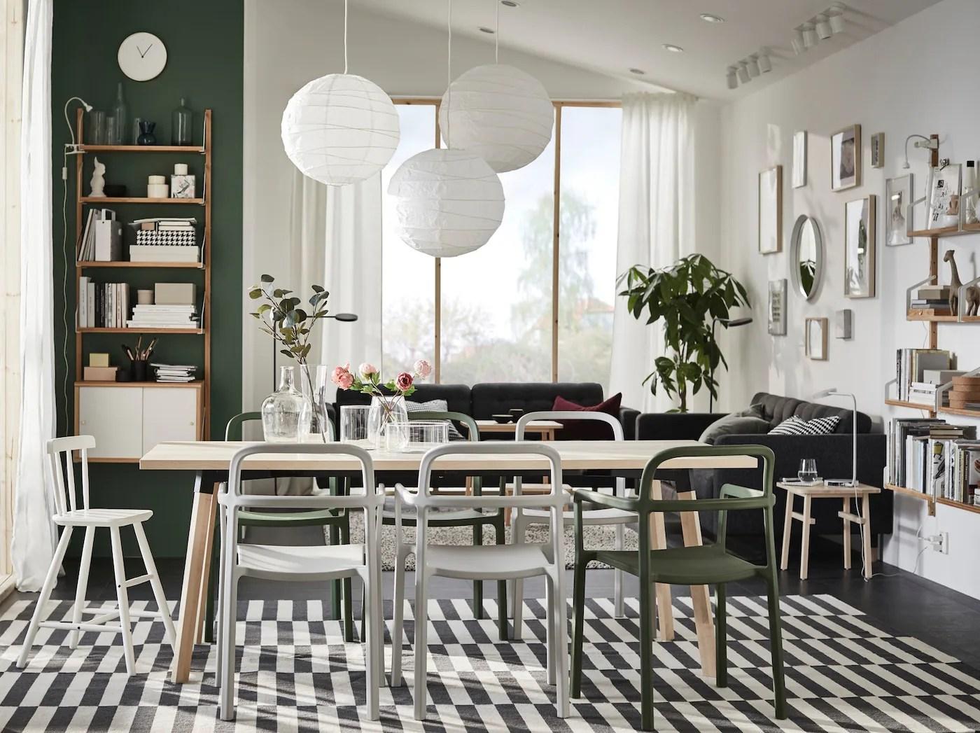 Une Salle A Manger Naturellement Scandinave Ikea