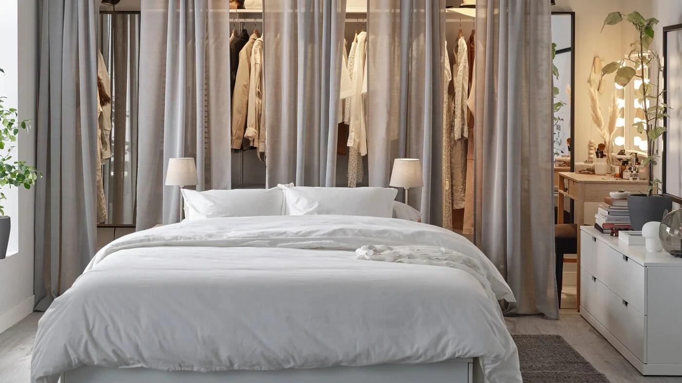 Chambre A Coucher Avec Rangement Chic Et Accessible Ikea Ca
