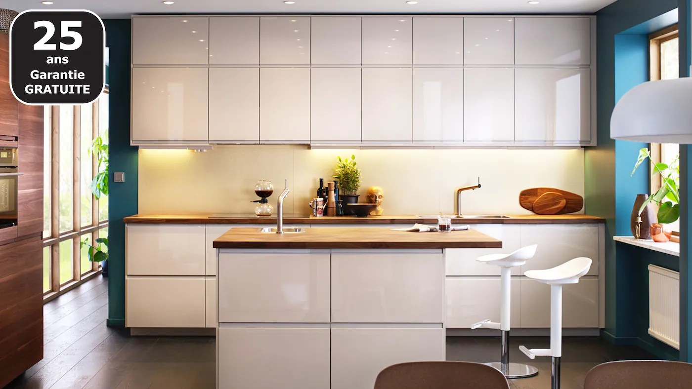 cuisines metod finition voxtorp blanc