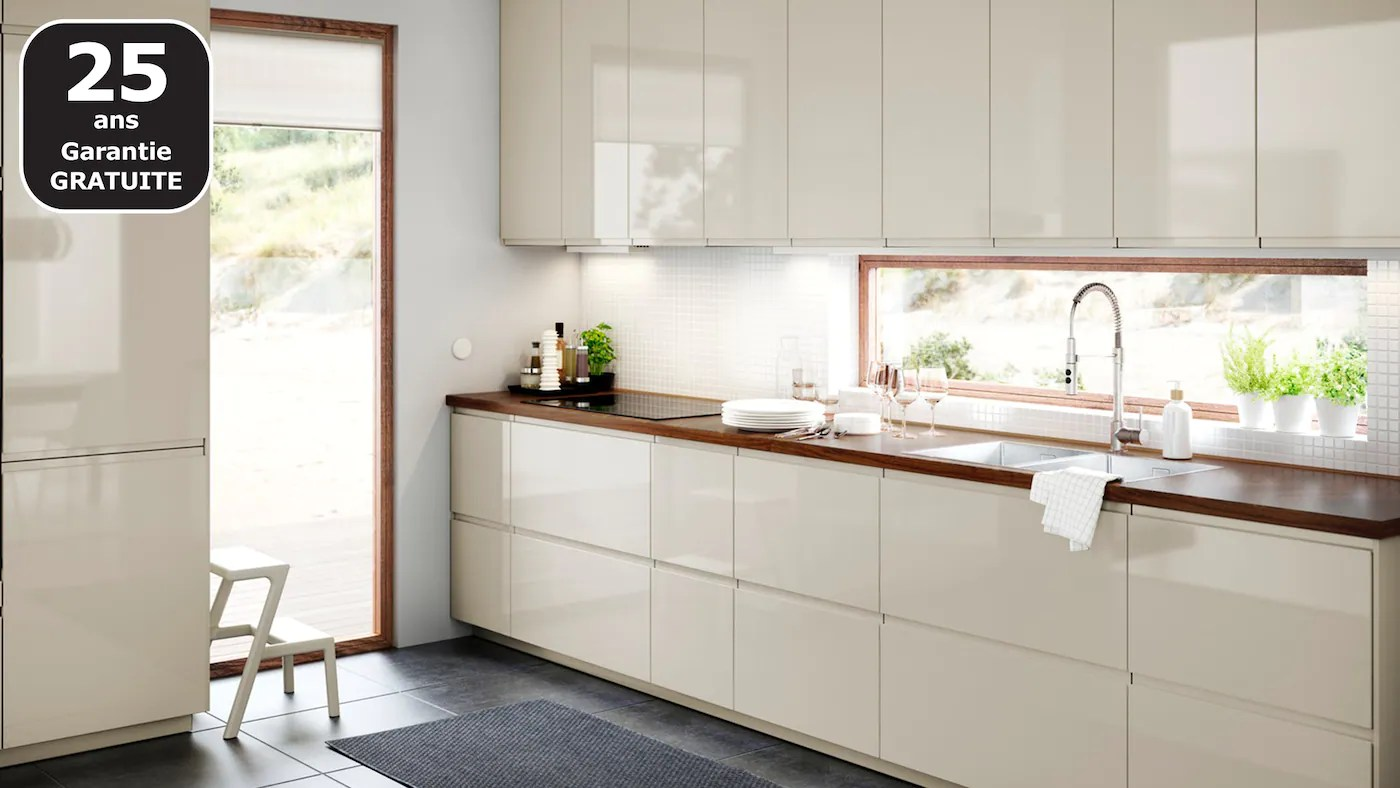 cuisines metod finition voxtorp beige