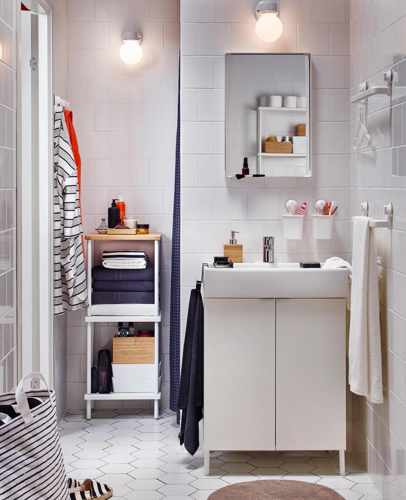 Badezimmer Organisation mit kleinen Details   IKEA Deutschland