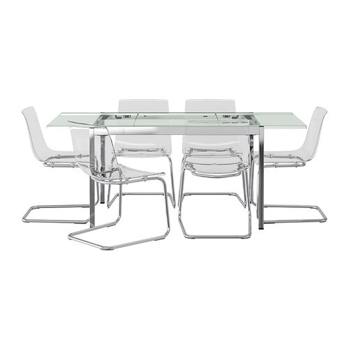 Piano Tavolo Vetro Ikea.Eames Transparent Dining Chair Charles Replica Style 1000 Ideas