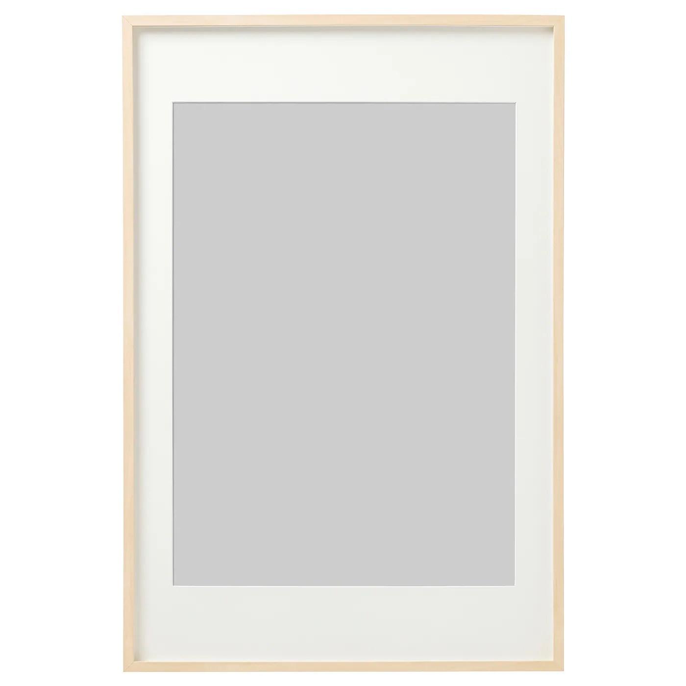 Hovsta Frame Birch Effect 61x91 Cm Ikea