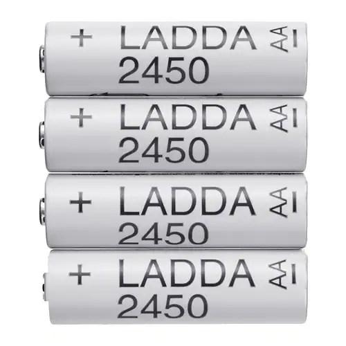 LADDA ラッダ 充電式電池 - IKEA