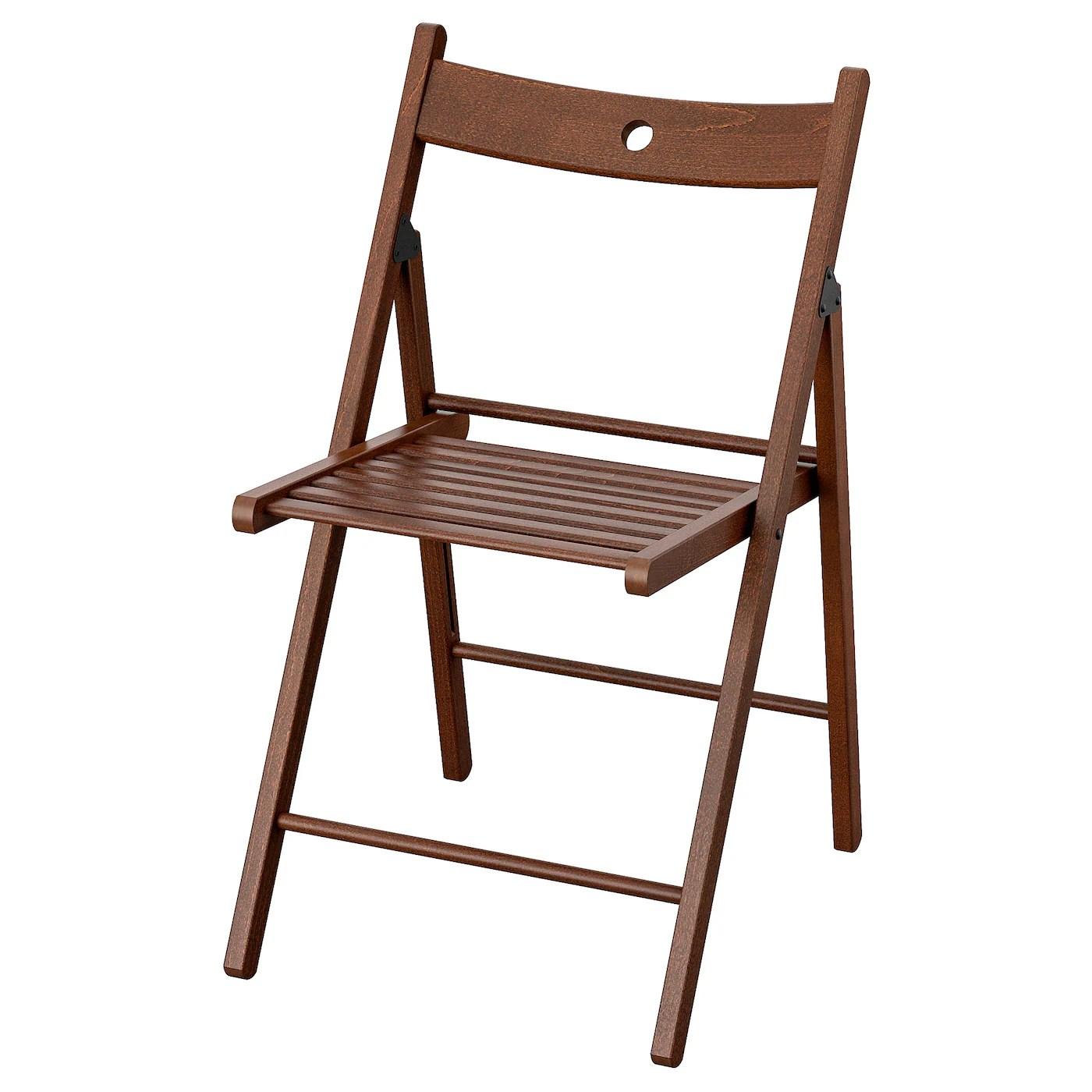 Terje Folding Chair Brown Ikea