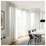 Hannalill Curtains 1 Pair Beige 145x250 Cm Ikea