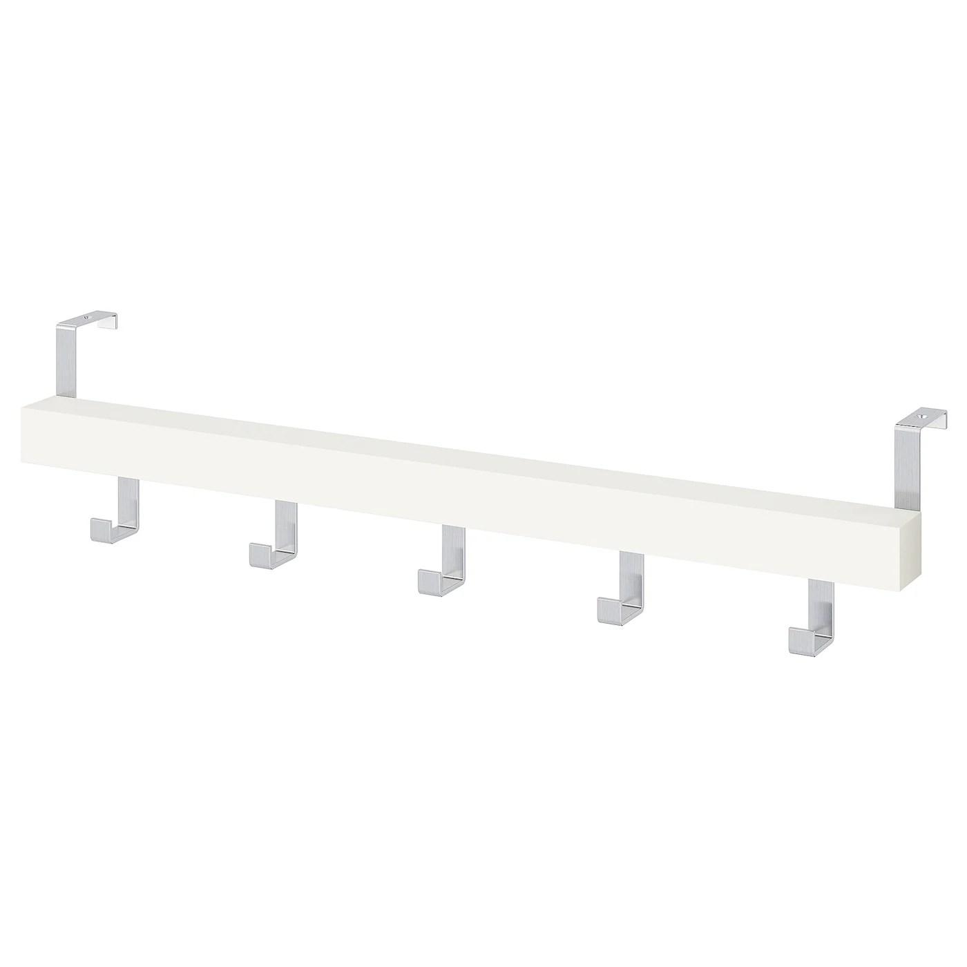 Tjusig Hanger For Door Wall White 60 Cm Ikea